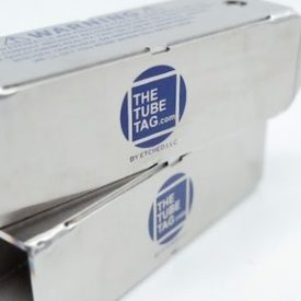 The Tube Tag Logo On Product